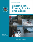 Boating on Rivers, Locks and Lakes Cover